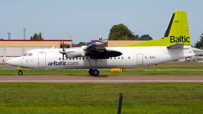 YL-BAO - Fokker 50 - Air Baltic