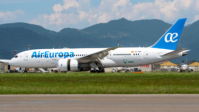 A picture of ECMIG - Boeing 7878 Dreamliner - Air Europa - © Medolago Manuel