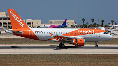 A picture of HBJYK - Airbus A319111 - easyJet - © Chris Camille