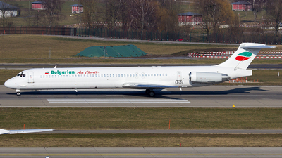 A picture of LZLDJ - McDonnell Douglas MD82 - Bulgarian Air Charter - © Yigit Cicekci