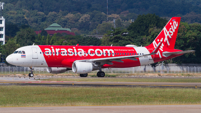 A picture of HSBBE - Airbus A320216 - AirAsia - © Chittapon K.