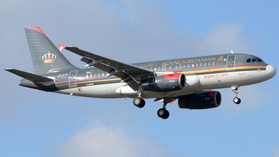 A picture of JYAYN - Airbus A319132 - Royal Jordanian - © Henrik Hedde