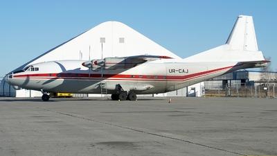 UR-CAJ - Antonov An-12BK - Meridian Aviation