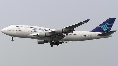 PK-GSG - Boeing 747-4U3 - Garuda Indonesia