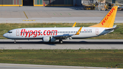 A picture of TCCPM - Boeing 73782R - Pegasus Airlines - © Harun Arda