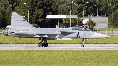 39227 - Saab JAS-39C Gripen - Sweden - Air Force