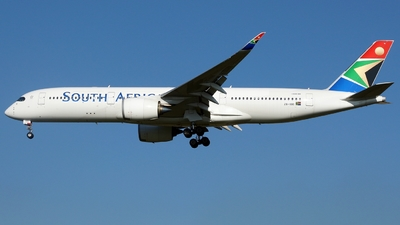 ZS-SDD - Airbus A350-941 - South African Airways