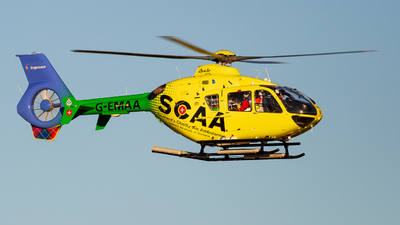 A picture of GEMAA - Airbus Helicopters H135 - Babcock MCS Onshore - © Ethan Hew - p_nilly