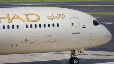 A6-BLI - Boeing 787-9 Dreamliner - Etihad Airways
