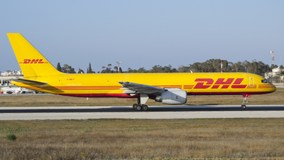 A picture of GBIKV - Boeing 757236(SF) - DHL - © Kyle Fearne