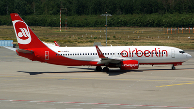 D-AHFW - Boeing 737-8K5 - Air Berlin