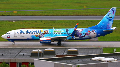 A picture of TCSNU - Boeing 7378HC - SunExpress - © Andreas Fietz