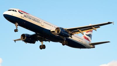 G-EUXJ - Airbus A321-231 - British Airways