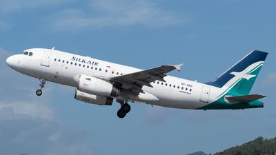 9V-SBG - Airbus A319-133 - SilkAir