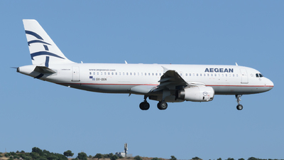 A picture of SXDGN - Airbus A320232 - Aegean Airlines - © George Chaidaris