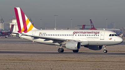 D-AKNV - Airbus A319-112 - Germanwings