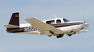 N5223J - Mooney M20K-231 - Private