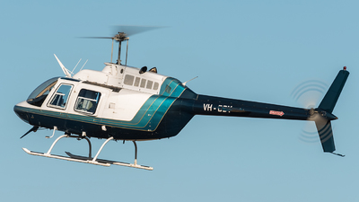 VH-BBY - Bell 206B JetRanger - Precision Helicopters