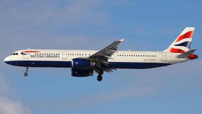 G-EUXF - Airbus A321-231 - British Airways