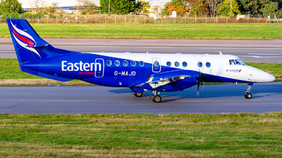 A picture of GMAJD - BAe Jetstream 41 - Eastern Airways - © Ethan Hew - p_nilly