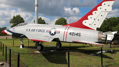 54-2145 - North American F-100D Super Sabre - United States - US Air Force (USAF)