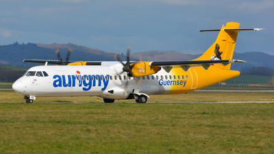 A picture of GLERE - ATR 72500 - Aurigny Air Services - © balducci aurelien