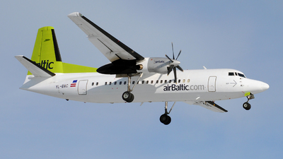 YL-BAC - Fokker 50 - Air Baltic