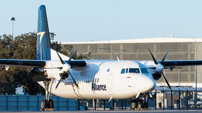 A picture of VHFKV - Fokker 50 - Alliance Airlines - © Andrew Lesty