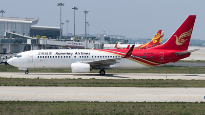 B-6491 - Boeing 737-8LY - Kunming Airlines