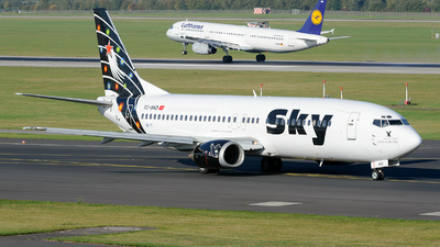 TC-SKD - Boeing 737-4Q8 - Sky Airlines