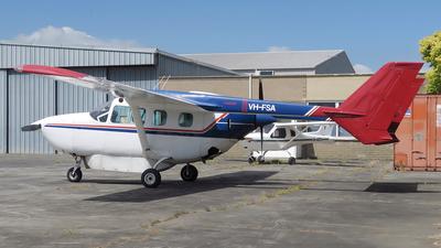 A picture of VHFSA - Cessna 337G Super Skymaster - [33701566] - © George Canciani