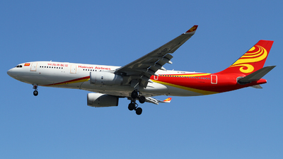 A picture of B6118 - Airbus A330243 - Hainan Airlines - © M.T