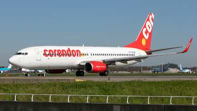 A picture of PHCDF - Boeing 737804 - Corendon Airlines - © Freek Blokzijl