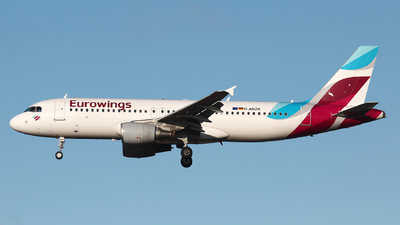D-ABZK - Airbus A320-216 - Eurowings
