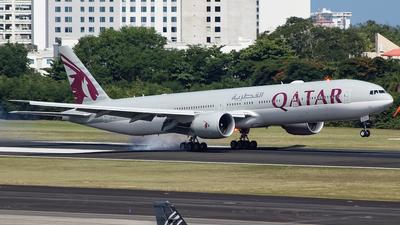A7-BEU - Boeing 777-3DZER - Qatar Airways