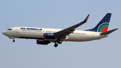 S2-AJA - Boeing 737-8Q8 - US-Bangla Airlines