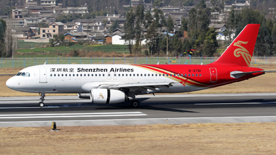 B-6781 - Airbus A320-232 - Shenzhen Airlines