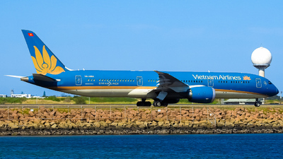 A picture of VNA864 - Boeing 7879 Dreamliner - Vietnam Airlines - © YSSYplanespotter