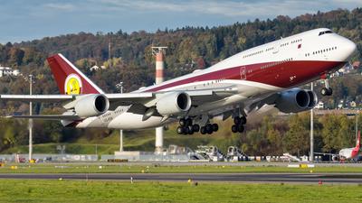 VQ-BSK - Boeing 747-8JA(BBJ) - Qatar - Amiri Flight