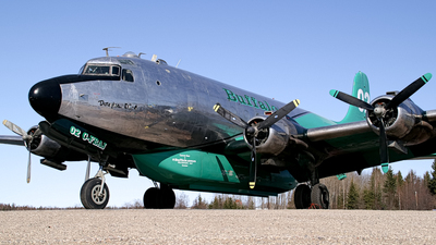 C-FBAJ - Douglas DC-4 - Buffalo Airways