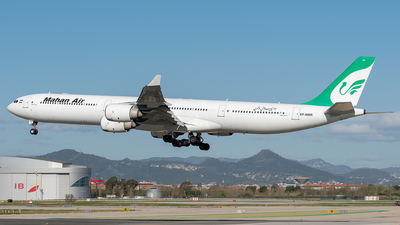 EP-MMR - Airbus A340-642 - Mahan Air