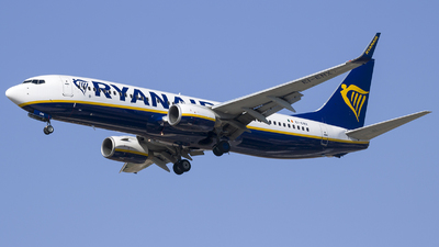 A picture of EIENX - Boeing 7378AS - Ryanair - © Tony Goldin