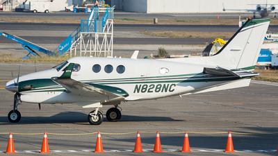 A picture of N828NC - Beech C90GTi King Air - [LJ2064] - © OSCAR GUILLEN