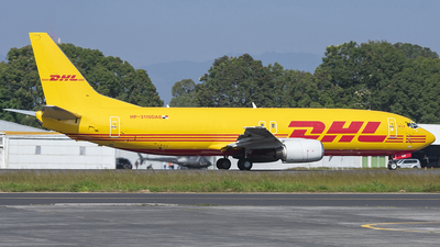 A picture of HP3110DAE - Boeing 7374Q3(SF) - DHL - © Alejandro Monzon