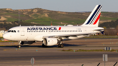 A picture of FGRXK - Airbus A319111 - Air France - © Alejandro Gutierrez Martin