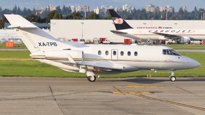 XA-TPB - Raytheon Hawker 800 - Private