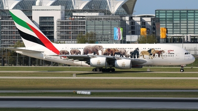 A6-EEI - Airbus A380-861 - Emirates
