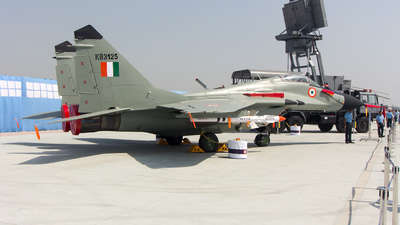 KB3125 - Mikoyan-Gurevich MiG-29B Fulcrum - India - Air Force