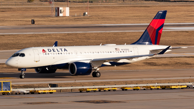 A picture of N135DQ - Airbus A220100 - Delta Air Lines - © Saul Hannibal
