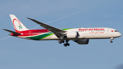 A picture of CNRGY - Boeing 7879 Dreamliner - Royal Air Maroc - © Gautham Kurup